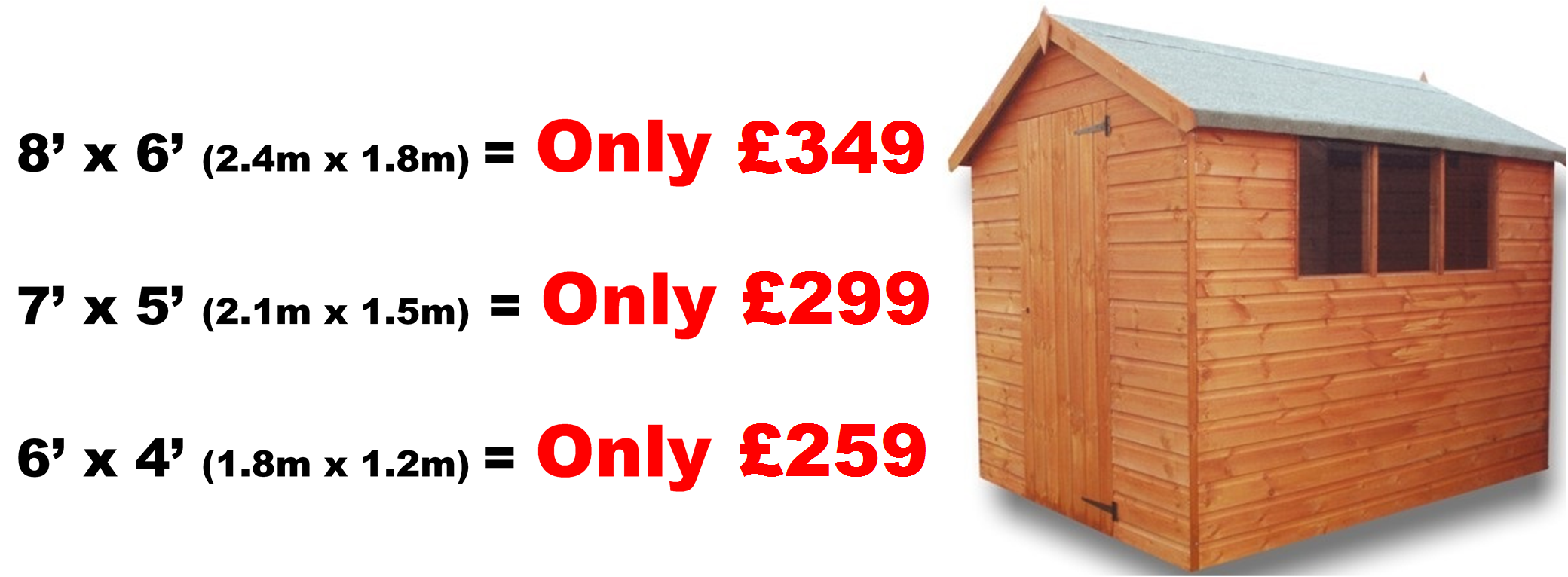 Garden Sheds 5m X 3m large range of gardenwise sheds. ideas for garden sheds practical