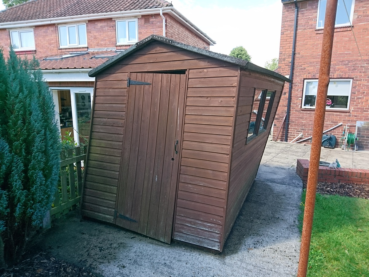 shed recycling york sheds